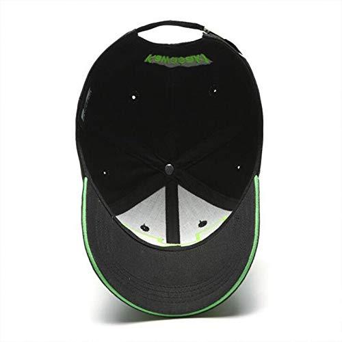 JKYJYJ Hombres De La Moda Hip Hop Caps Moto Carreras Kawasaki Gorra Sombrero Motogp Gorra De B/éisbol Pap/á Sombrero Hueso Casquette