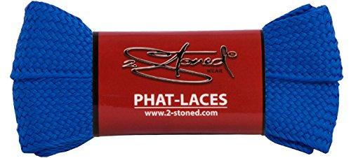 Original 2stoned Phat Laces Schnürsenkel 120cm lang und 3cm breit in 14 Farben Royal