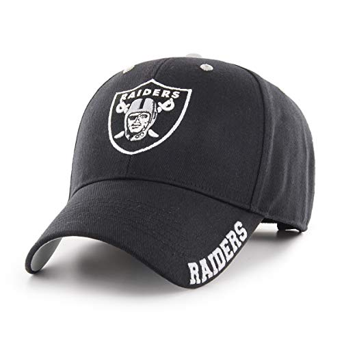 NFL Oakland Raiders Blight OTS All-Star Adjustable Hat, Black, One Size