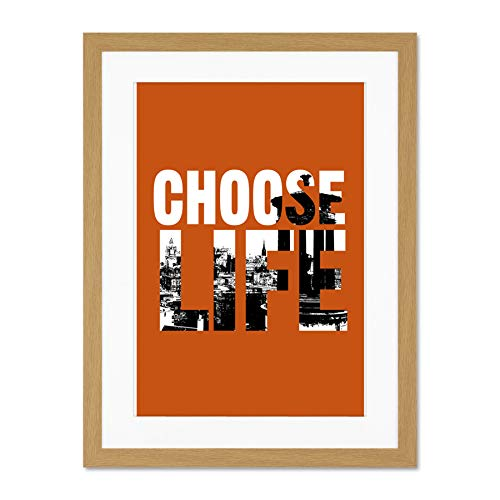 Top Trainspotting Choose Life Poster