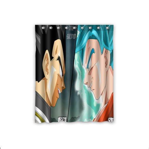 ScottShop Dragon Ball Z Custom Window Curtains / drape / panels / treatment Comfort Polyester Fabric Bedroom Decor 52