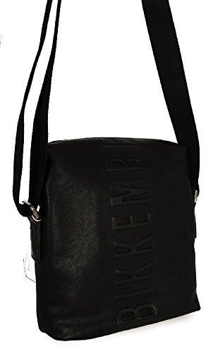 Borsa Borsello Tracolla Unisex Nero Bikkembergs Bag Unisex Black Db-Army Reporter (Shoes Men Bikkembergs)
