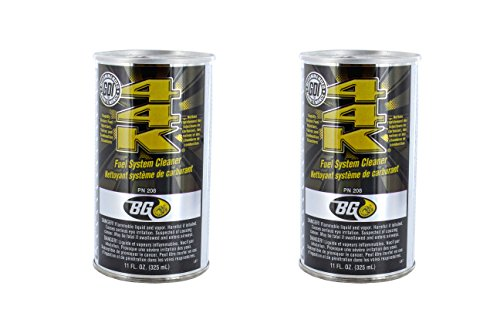 - BG 44K Fuel System Cleaner Power Enhancer 2 Pack 11oz can
