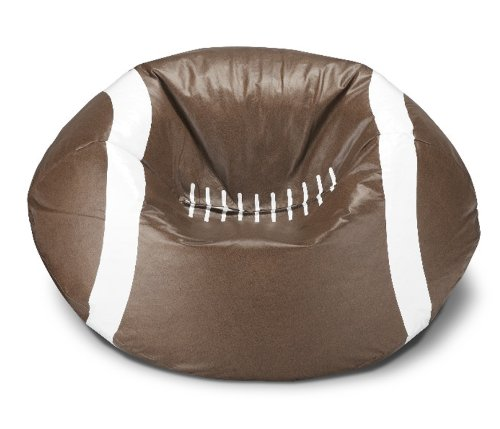 Michael Anthony Furniture Football Matte Bean Bag (Football Bean Bag Chair)