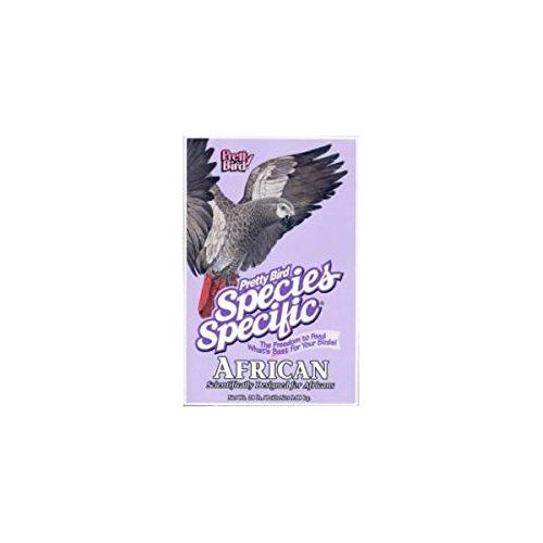 - Pretty Bird International Bpb73313 Species Specific African Bird Food With Extra Calcium, 3-Pound
