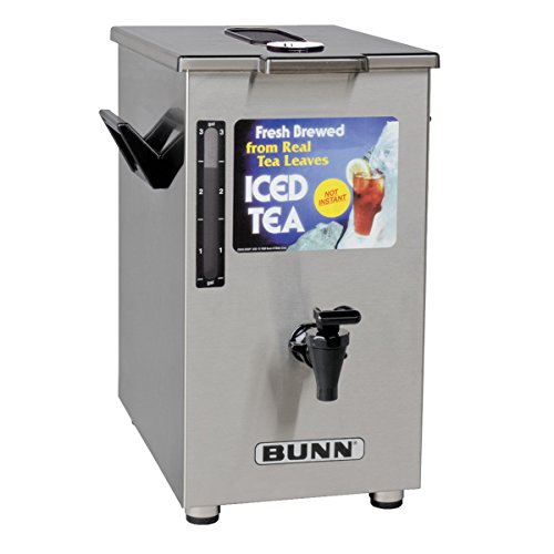 - BUNN TD4 Iced Tea Dispenser with Brew-Through Lid