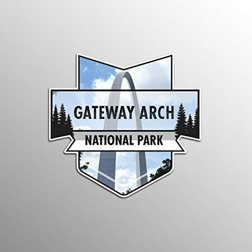 JB Print Gateway Arch National Park Vinyl Decal Sticker Car Waterproof Car Decal Bumper Sticker 5
