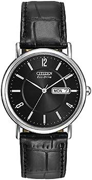 Citizen Black Dial Eco-Drive Men's Watch