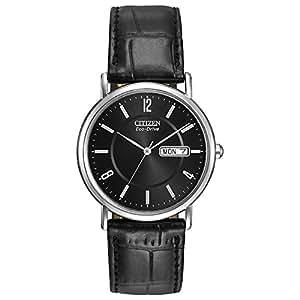 Citizen Men BM8240-03E Year-Round Analog Solar Powered Black Watch