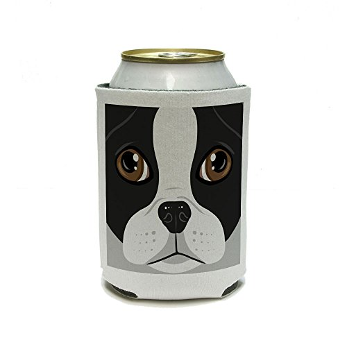 Boston Terrier Face Insulator Insulated
