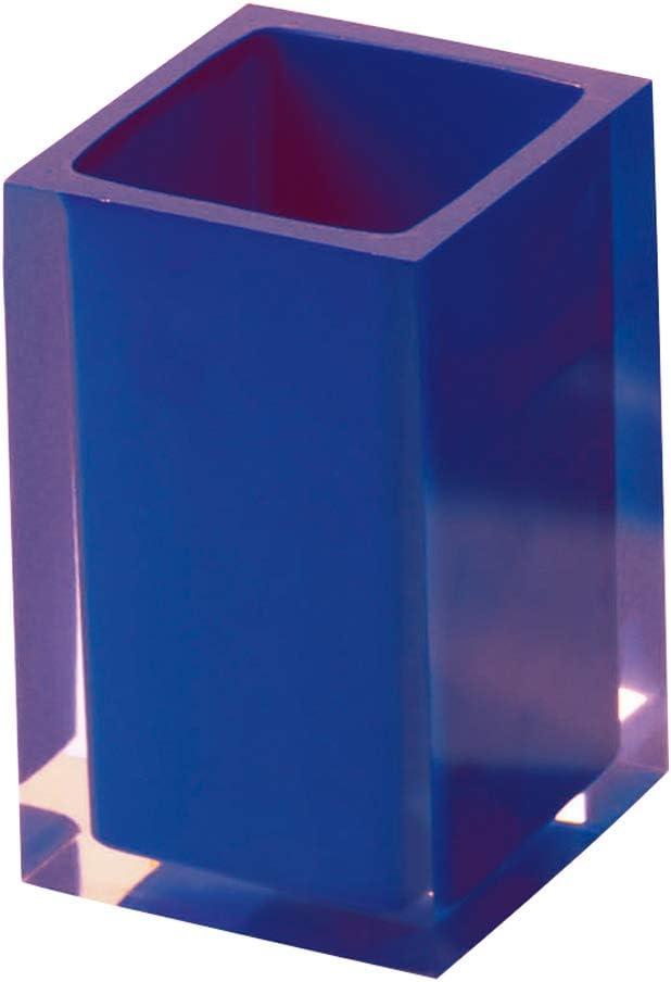 Gedy RA980200300 Portacepillos Blanco 7.2x7.2x11 cm