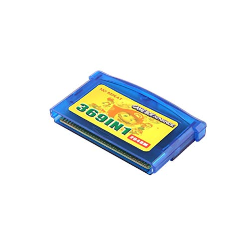 Traumer 369 in 1 Video Game Card Portable Game Card Cartridge for Nintendo GBA