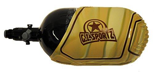 GI Sportz Exalt Carbon Fiber Tank Cover-Fits 68ci/70ci/72ci Paintball Tank - Camo by GI Sportz