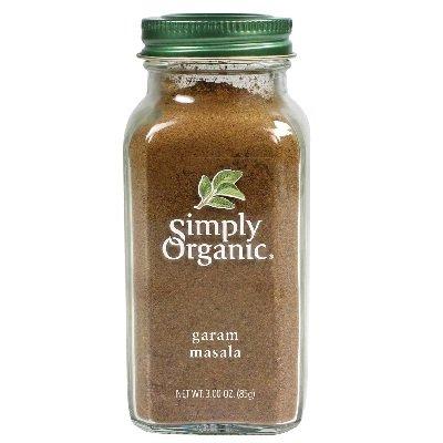 Simply Organic Garam Masala, 3 Ounce - 6 per case.