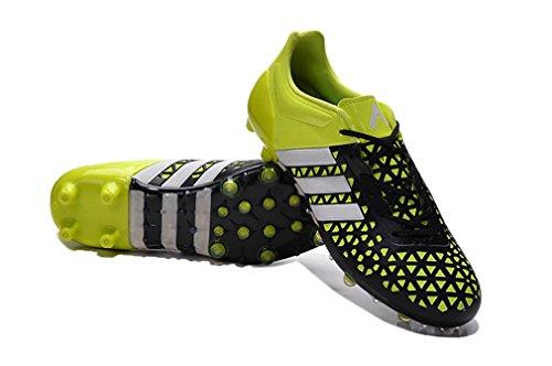 Herren ACE 15,1FG blackwithyellow Low Fußball Schuhe Fußball Stiefel