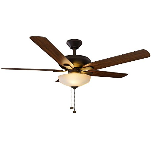 Hampton Bay 57261 52 in. Holly Springs LED Oil-Rubbed Bronze