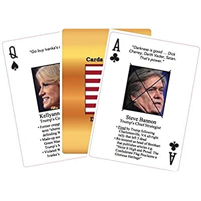 KNOW YOUR DEPLORABLES! Playing Cards - 1st Edition: Toys & Games
