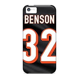 For Iphone 5c Tpu Phone Case Cover(cincinnati Bengals)