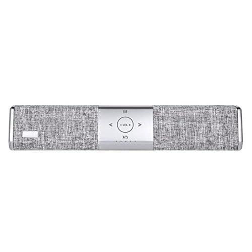 Barre de son enceinte design Home cinéma HOPESTAR Haut-parleur Bluetooth Portable Radio FM carte SD speakers pour TV PC Tablettes Téléphones smartphone musique