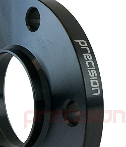 Precision 2 Pairs of Hubcentric Black 15mm Alloy Wheel Spacers for ƁMW 4 Series M4 PN.SFP-4PHS4B123