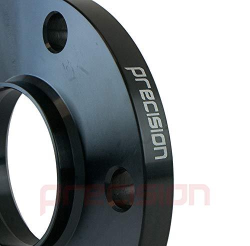 Precision 1 Pair of 15mm Black Hubcentric Wheel Spacers /& Bolts for ƁMW 5 Series Alloy Wheels PN.SFP-2PHS4B+10BM1740B118