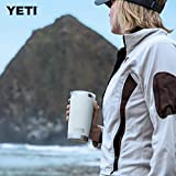 YETI Rambler 20 oz Tumbler, Stainless Steel, Vacuum Insulated with MagSlider Lid, White
