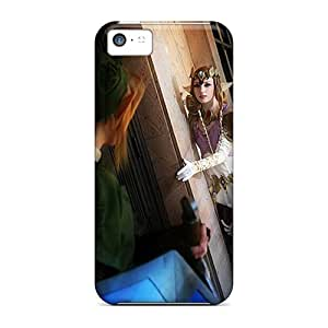 Premium Zelda And Link Back Covers Snap On Cases For Iphone 5c