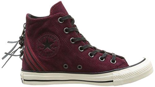 Converse Womens Chuck Taylor All Star Tri Zip Sneaker Oxheart Burgundy bZtmayEFEs