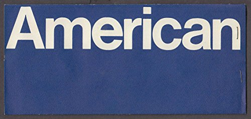 American Airlines airline wrapper & ticket 1969 BDL-LAX + boarding pass bag tags (Bdl Bag)