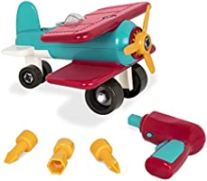 Battat Take-Apart Airplane Toy Vehicle Playset (25 pieces)