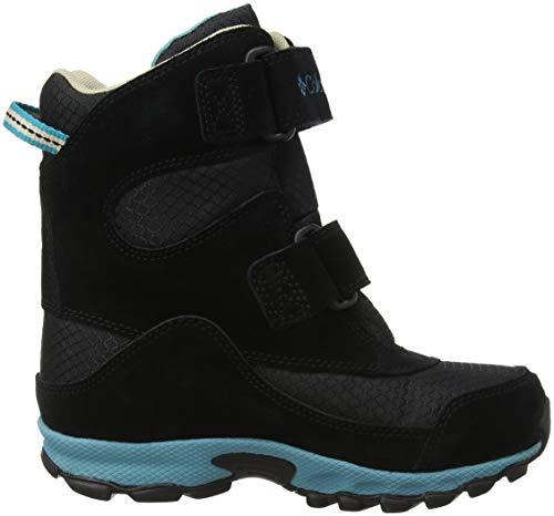 Chaussures Youth black Peak Pacific Noir Rim Enfant Mixte De Boot Columbia Randonnée Parkers Hautes dIP4qqw