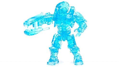 Mega Construx Halo Maverick Series Ultra Rare Translucent Blue