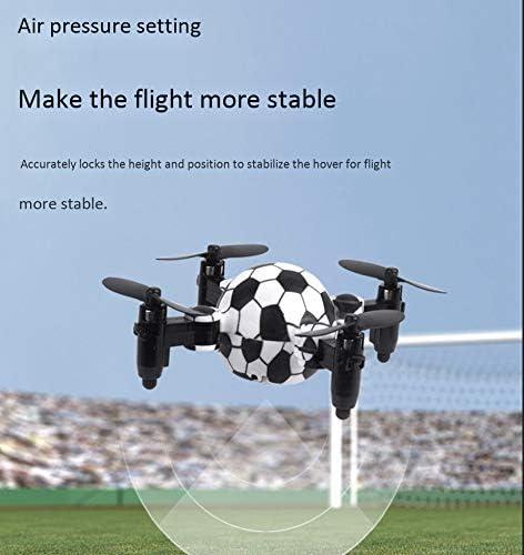 SQSAY Quadricoptère Mini Montre Pliable Geste Télécommande Contrôle Main Gravité Induction Enfants Jouet Avion Drone