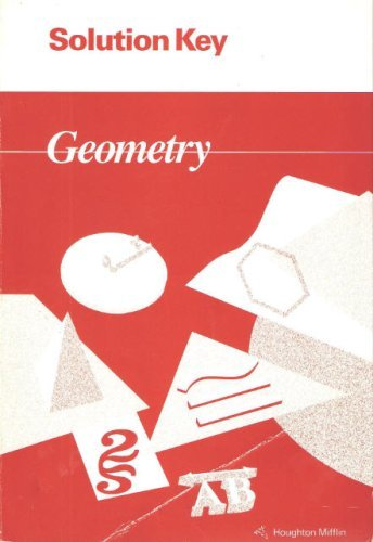 Houghton Mifflin - Geometry - Solution Key [Solutions Manual]