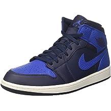 Jordan Nike Men's Air 1 Mid Basketball Shoe