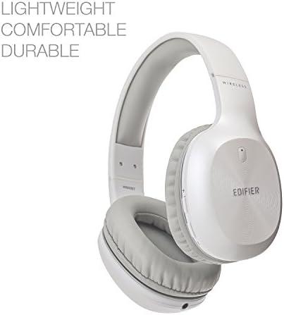Edifier W800BT Bluetooth Headphones – Over-The-Ear Wireless Headphone, 75 Hours Long Playback, Lightweight – White