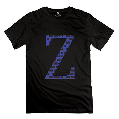Fzlb Mens Morsecode Z T Shirt Medium Black