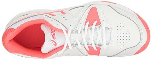 Gel Asics 12 Bianco M Diva Tennis Di Scarpe Donna gamepoint Da Noi Rosa q6FtwF