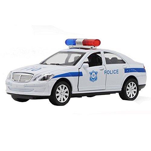 1:32 Police Car Model Simulation Toy