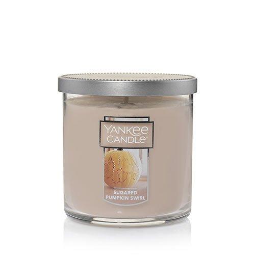Yankee Candle Sugared Pumpkin Swirl Small Tumbler Candle, Food & Spice -