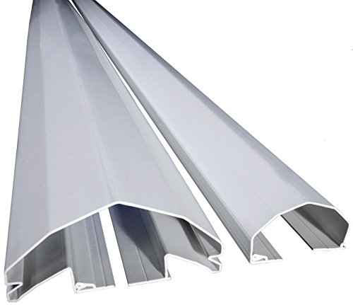 PINCHSHIELD PRO 76.8'' WHITE (4 PACK) FOR 180 DEGREE DOORS by PINCHSHIELD.COM