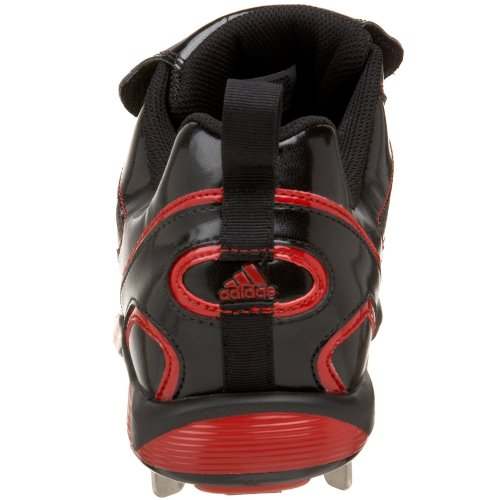 adidas Diamond Low Black Red Mens King Cleat White Baseball Metal ZZx45gqr
