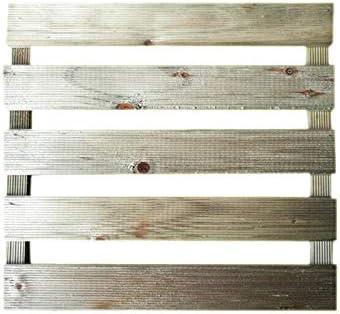 Solid - Baldosa moleteada económica, 40 x 40 cm, de Madera tratada para Exteriores con Grosor de 2, 4 cm - Suelo de Exterior con baldosas: Amazon.es: Jardín