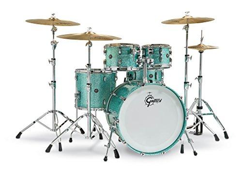 Gretsch Renown2 5 Piece Drum Set (22/10/12/16/5.5x14SN) Turquoise ()