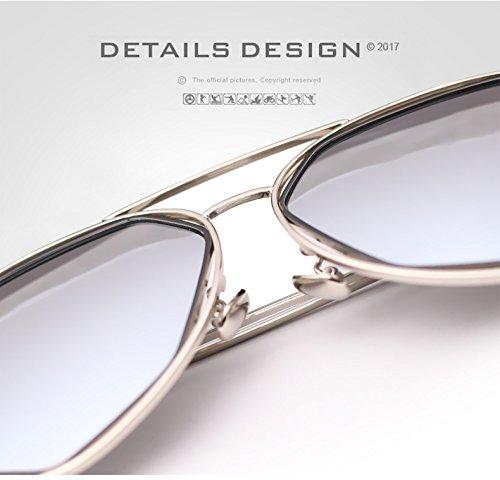 de de Hombres Gafas Irregulares Shopping Color Easy para de Gafas Sol Go la UV400 1 Vendimia 1 piloto Sol polarizadas Lady qtx0ZPwg