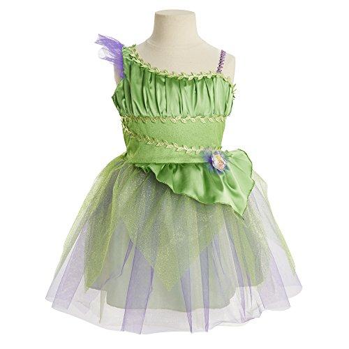 [Disney Fairies Pixie Dress (Tink)] (Fairy Dress For Kids)