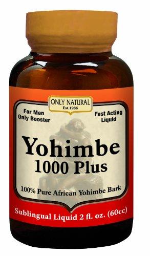 Только натуральные йохимбе 1000 Plus 60 таблеток