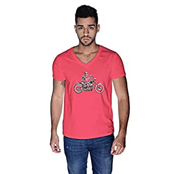 Creo T-Shirt For Men - L, Pink
