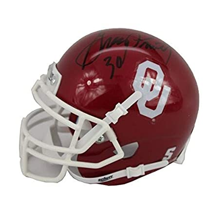 db2943ba9 Image Unavailable. Image not available for. Color  Greg Pruitt Autographed  Signed Oklahoma Sooners Mini Helmet - JSA Certified Authentic