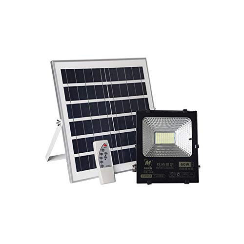 Q-fo Foco Proyector Solar LED Exteriores, Luces De Seguridad ...